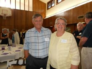 Ann Harris Blankenship and her husband