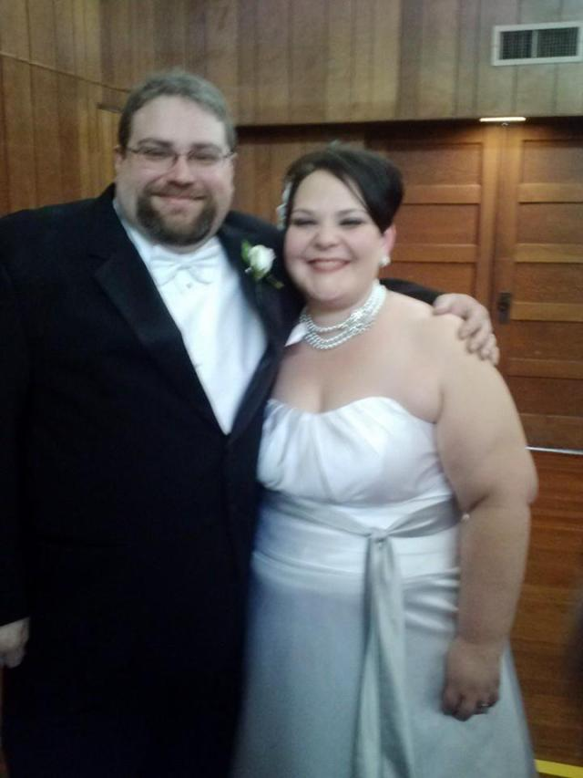 Jim Arno and Heather Taylor were pronounced husband and wife by Dean Stewart on Dec. 7, 2013.