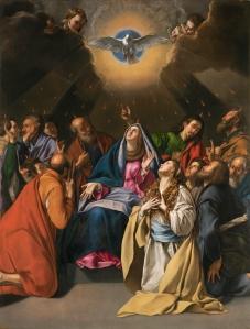 Pentecostés, 1615-1620, by Juan Bautista Maíno